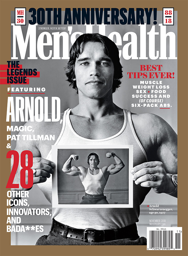 Arnold Schwarzenegger, Men's Health, 30th Anniversary Issue